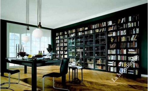 meuble biblioth que modulaire 13 la meridienne d coration. Black Bedroom Furniture Sets. Home Design Ideas