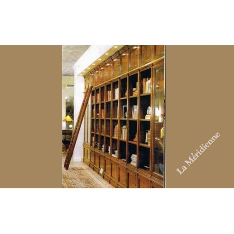 meuble biblioth que classique la meridienne d coration. Black Bedroom Furniture Sets. Home Design Ideas