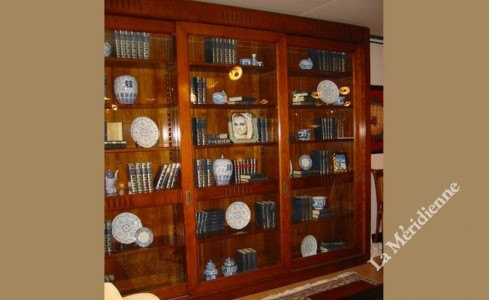 Meuble Bibliotheque Vitre La Meridienne Decoration