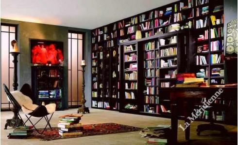 Meuble bibliothèque modulaire 10