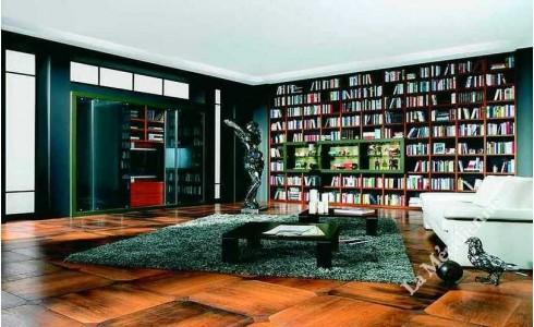 Meuble biblioth que modulaire 9 la meridienne d coration for Meuble bibliotheque modulaire