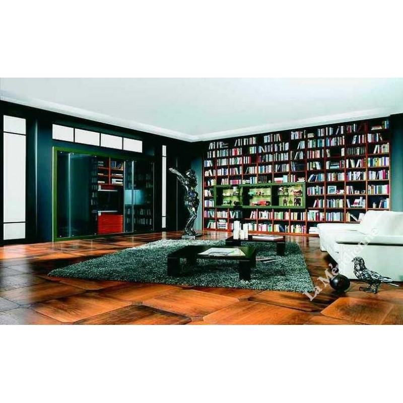 meuble biblioth que modulaire 9 la meridienne d coration. Black Bedroom Furniture Sets. Home Design Ideas