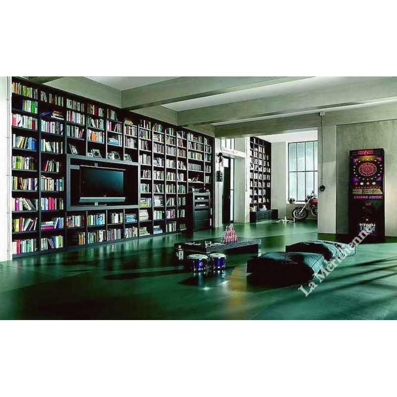 Meuble biblioth que modulaire 8 la meridienne d coration for Meuble bibliotheque modulaire