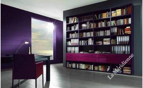 Meuble bibliothèque modulaire 4