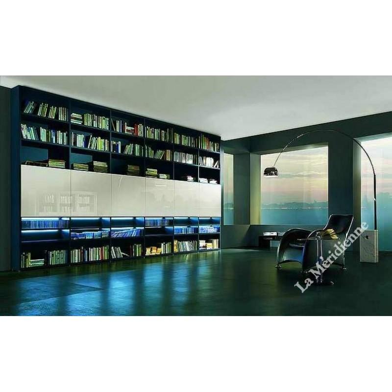 Meuble biblioth que modulaire 2 la meridienne d coration for Meuble bibliotheque modulaire