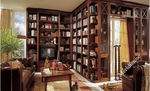 Meuble biblioth que bureau int gr images - Bureau bibliotheque integre ...
